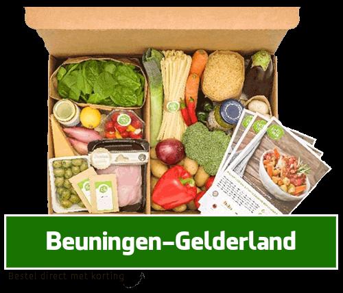maaltijdbox Beuningen-Gelderland